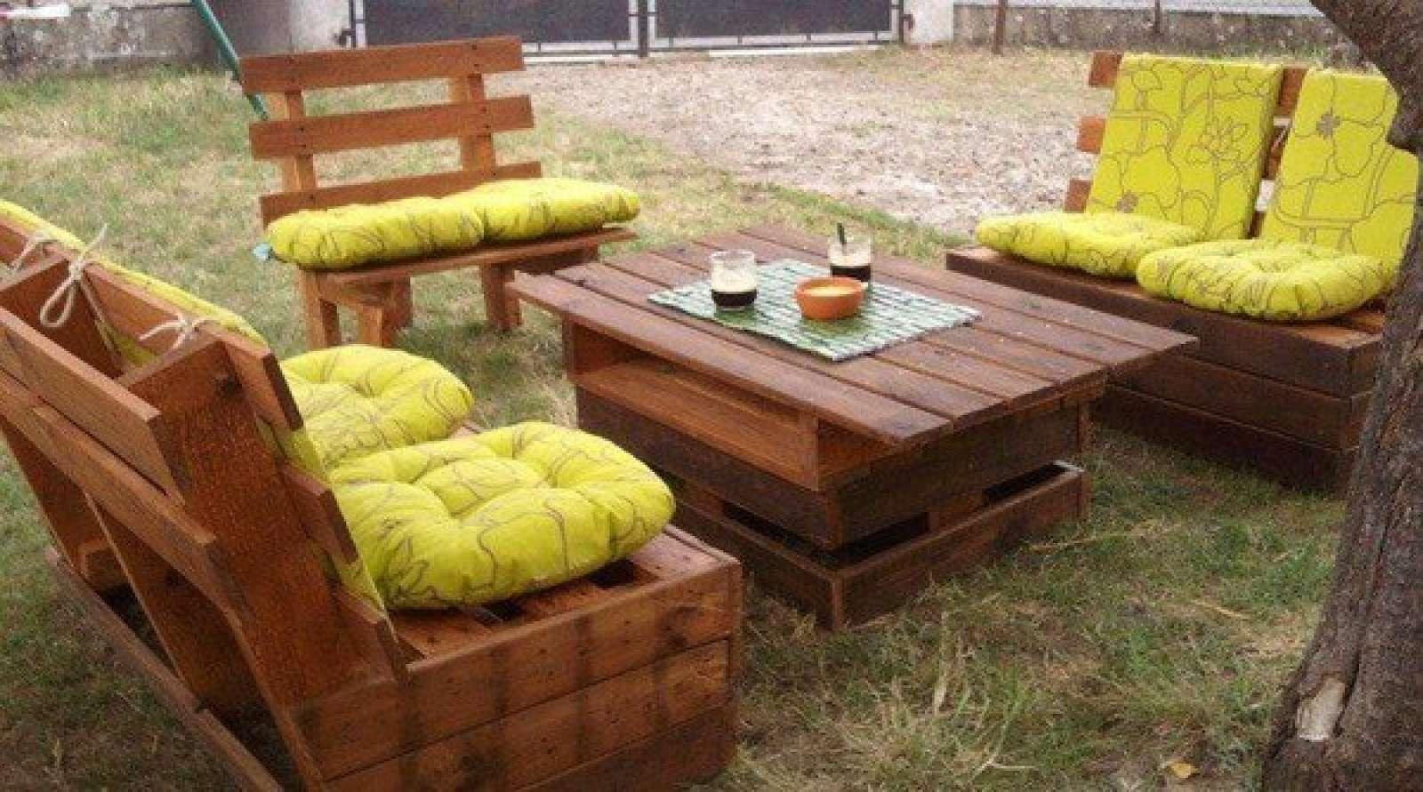 Садовый диван из дерева своими руками