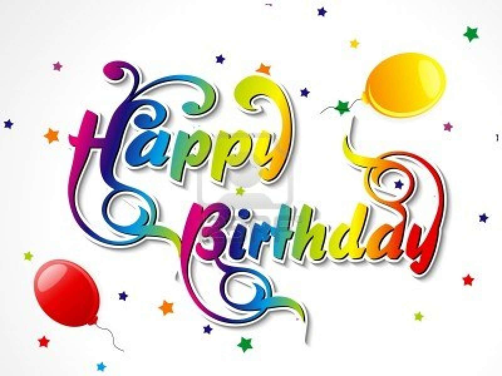 carte de voeux happy birthday