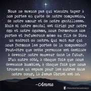 Citations de Amma.