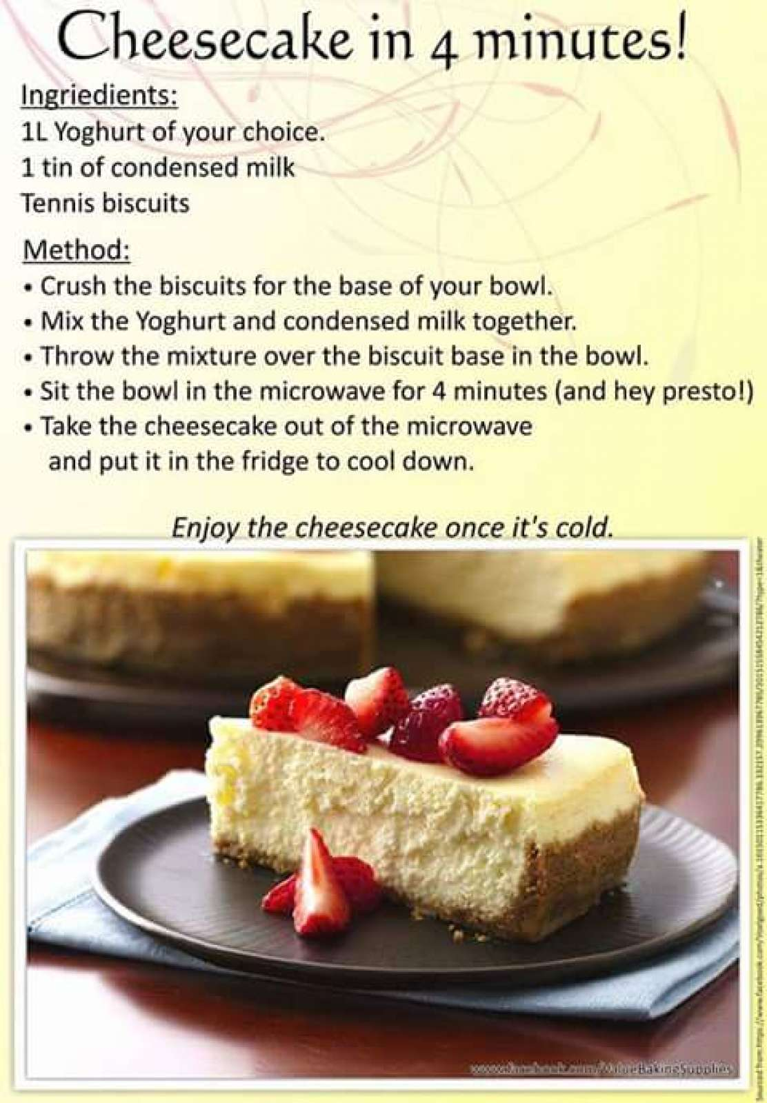 Cake Recipe Using Microwave Oven