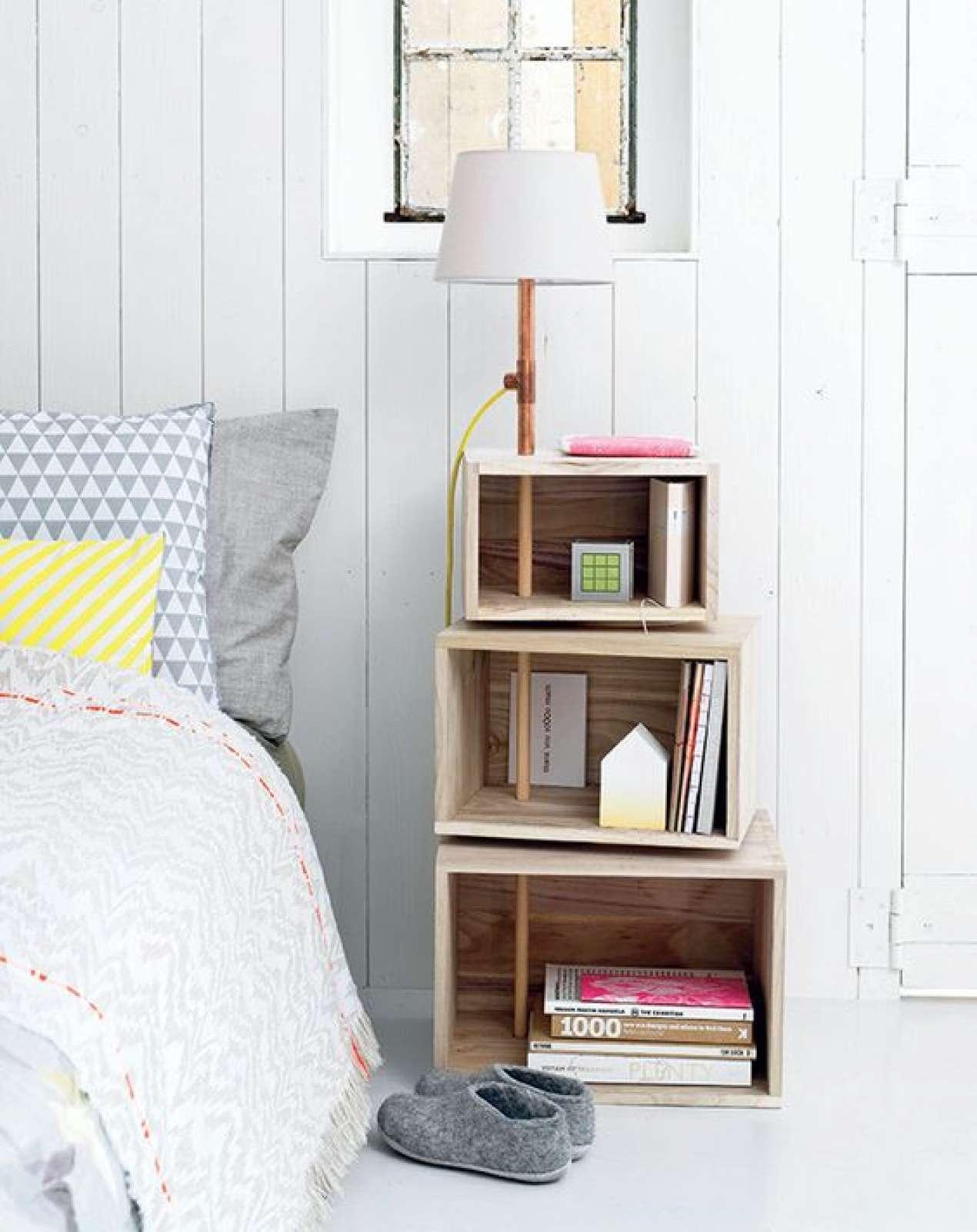 Фото прикроватных тумбочек для спальни своими руками